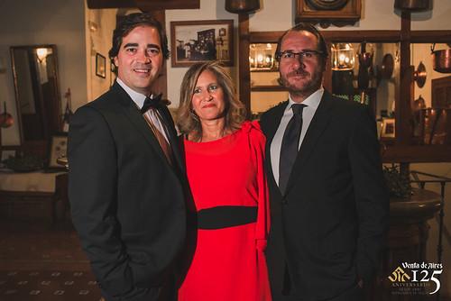 Toño Constantino, Fernando y Gabi. Toledo