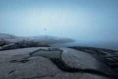 Peggy's Cove (Sandra Herber) Tags: fog novascotia peggyscove lighthouse