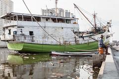Jakarta old harbour (Hans Makkee) Tags: jakarta oldharbour java indonesia