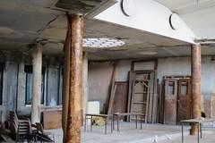 Restauration en cours, Bourse du travail (1936), Bordeaux (33) (Yvette Gauthier) Tags: bordeaux gironde 33 aquitaine architecture artdco boursedutravail jacquesdwelles