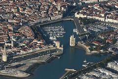 Vue arienne de La Rochelle (photoposie) Tags: larochelle