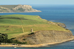(JulianClementson) Tags: england dorset coast landscape kimmeridge bay clavell tower staldhelms aldhelms headland sea water cliffs