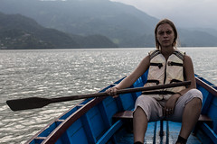 allyce boat (1 of 1) (abbott_albert) Tags: boat ballin lake fewa pokhara nepal rowing sigma 35mm
