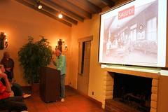 Richard Moriarty discusses wine at OCHS, Oct. 2016 (Trader Chris) Tags: coronadelmar shermanlibrary shermangardens newportbeach orangecountyhistoricalsociety ochs history