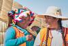 Uros women (fabioresti) Tags: localpeople travel portrait uros urosislands girl women perù peruvian lake titikaka lago 2016 canoneos80d 55250 smile sorriso peruviane donne
