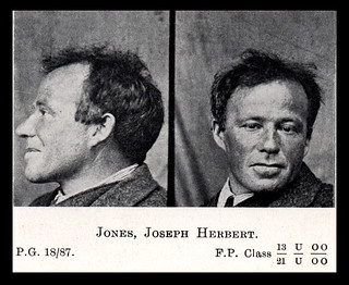 Joseph Herbert Jones - 1918 Police Gazette photograph
