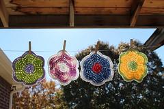 Dishcloths (Pammy Sue1) Tags: kitchen handmade crochet yarn dishcloth cotton potholders dishrags