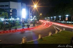 All in One (Haris Riz'Q) Tags: road street city longexposure car bulb night canon indonesia landscape eos town downtown cityscape traffic photograph lighttrail jember 1100d momentwarrior kameradslrgw visitjember