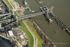 Kinder Morgan IMT, Port Sulphur, Louisiana (Lower Mississippi Riverkeeper(a project of LEAN)) Tags: louisiana unitedstates mississippiriver coal export imt waterpollution portsulphur kindermorgan coalterminal la cleanwateractviolation
