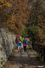 Primo allenamento (gambainspalla) Tags: mountain sport training trekking francis trail valley endurance montagna aorta quart disability allenamento inail valsainte disabilit desandr diversabilit gambainspalla