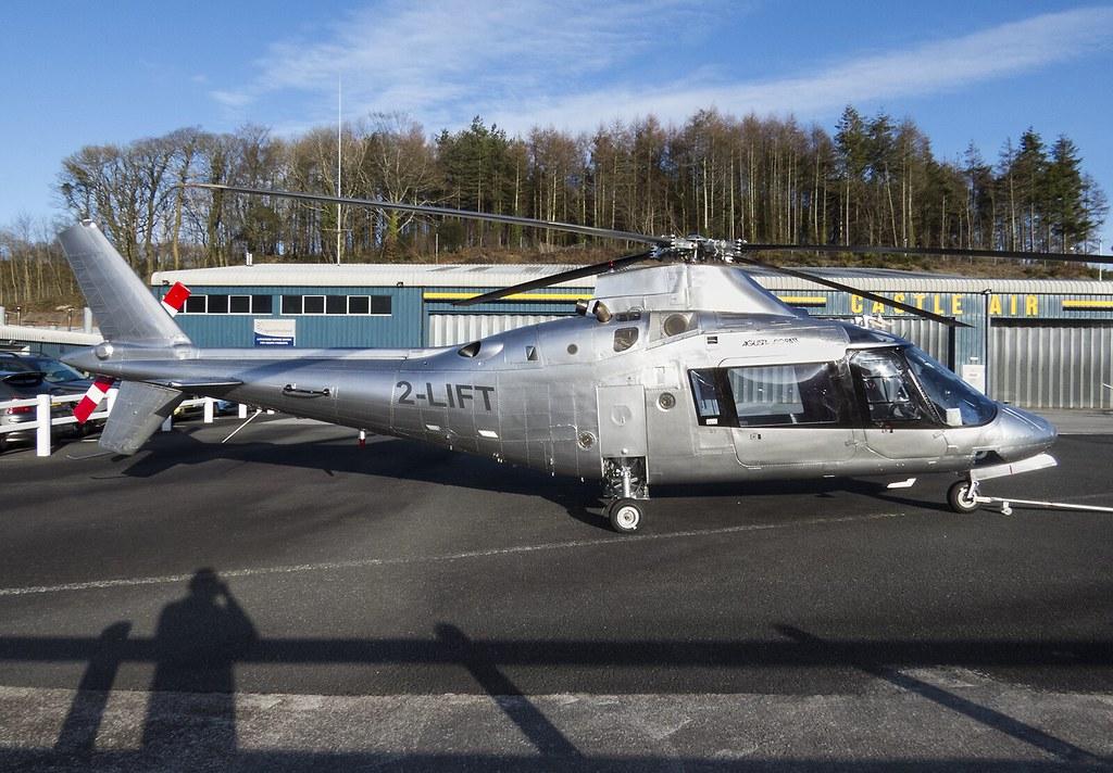 2-LIFT Agusta A109A @ Castle Air Liskeard. (PoS Photogaraphy) Tags: