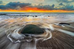 Bowling Ball Beach (Jaykhuang) Tags: ocean california sunset beach rock stone coast wave mendocino northcoast bowlingballbeach jayhuangphotography