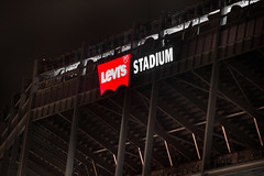 branded (pbo31) Tags: california color sport northerncalifornia night football nikon december stadium nfl sanfrancisco49ers bayarea santaclara levis southbay d800 2014 santaclaracounty levisstadium