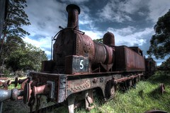 No 5. (Ian Ramsay Photographics) Tags: proud working hard railway australia newsouthwales siding thirlmere idly wwwtrainworkscomau steamdrivenlocomotive