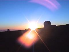 Bending Sunset Manua Kea