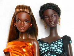 Black beauty (Antiphane) Tags: africa city shine princess south barbie collection mattel