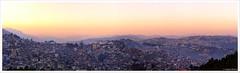 Sunset Over Kohima (ZeePack) Tags: sunset panorama india canon town dusk east hilly kohima nagaland 6d