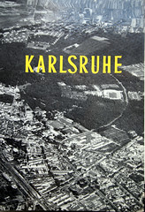 Karlsruhe in 1961 from above (roomman) Tags: old blackandwhite bw 3 black history vintage germany buch book design 60s style erich aerial historic cover 1950s bauer 50s title bandw edition baden karlsruhe development 3rd 1950 1961 antiquariat 1960 luftbild andwhite albrecht 2014 badenwürttemberg aereal württemberg luftbilder bawü dritte brugger auflage 160s bildband 3rdedition 3auflage erichbauer