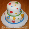 Rainbow Colours Cake