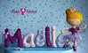Pour Maëlle :) (Mimos & Feltrices) Tags: ballet baby girl ballerina dancing name felt bebé gift nombre present nome feltro menina madrinha presente bailarina fieltro