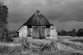 Schafstall in der Heide, Pentax ME