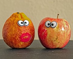 Small Fruit Song Week #5 Image Based on a Song (Explore Jan 31st/2015) (DASEye) Tags: orange apple fruit nikon challenge week5 dayseye davidadamson 52in2015 52in2015challenge taken31115