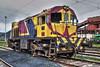 Magulladuras (Trenero EFC) Tags: españa train tren puerto spain accident railway asturias accidente locomotive gijon locomotora ferrocarril jop shunter maniobras aboño