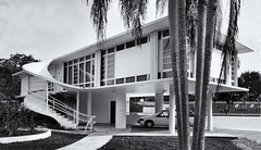 1949 MIMO (Burnt Umber) Tags: mimo miami modern architecture florida mornngside stair steps scala rpilla001 pentax k5 tamron1750mmf28 rufus nims black white blanco negra
