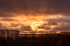 Sonnenuntergang in Wartenberg (dersgtdan) Tags: berlin germany sonnenuntergang pentax landschaftspark dri hdr k3 wartenberg hohenschönhausen 18135 feldmark