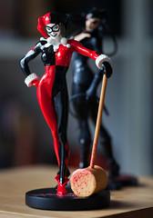 bad girls (desertdragon) Tags: statue dc adamhughes catwoman harleyquinn zeiss135mm