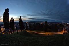 Night is coming (giacomarco1981) Tags: city longexposure urban italy panorama cityscape fisheye hills colline città fagagna friuliveneziagiulia lungaesposizione club16 samyang8mm