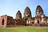West Pra Prang Sam Yod (suwapitch13) Tags: castle archaeology architecture buildings thailand ancient ruins touristattraction lopburi laterite ancientremains ancienttimes praprangsamyod buddhistplace khmercastle