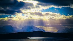 Hidden sun in Sunnmre, Norway (ketil.fossum) Tags: winter light sky sun norway canon nor lesund sunnmre