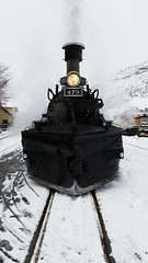 Durango silverton 473 equipped for snow 2015 (-Eric-Miller-) Tags: train engine railraod
