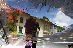 submarine dreaming (MdKiStLeR) Tags: street city urban motion color reflection asia southeastasia flip workshop malaysia kualalumpur kl 2015 abstractish urbanx mdkistler findingyourselfinthestreets copyrightmichaelkistler submarinedreaming