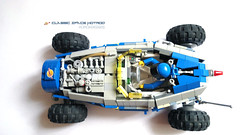 Hotrod, hotrod, HOTROOOD (Horcik Designs) Tags: blue classic yellow big team model lego drawing space system technic spaceman neo spacemen