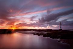 Perch Rock sunset  1 oct 2014  sml (GOLDENORFE) Tags: sunset