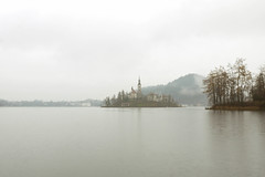 1388 (cristianachivarria) Tags: winter lake church landscape slovenia bled waterscape projectweather