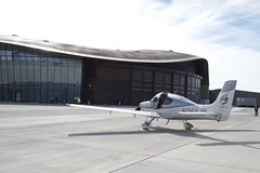 Private plane on Gateway to Space Apron