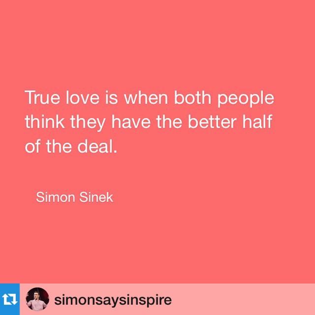 #Repost @simonsaysinspire・・・#love #truelove #relationships #valentine #quote #inspire #simonsinek #startwithwhy #loyalty #leaderseatlast