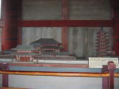 Model of  Original Todaiji