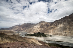 intermittent clouds, Nubra Valley (subhajyoti) Tags: india landscape cloudscape ladakh nubravalley subhajyotiroychowdhury