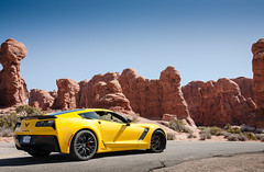 Views for days (WaFp) Tags: travel utah stingray roadtrip archesnationalpark corvette z06