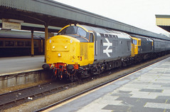 Nice And New (pete.callaway) Tags: newport britishrail class37 railfreight 37695