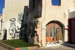 "Street Art - ""Remparts"" Festival III (sarakadaoui) Tags: street art tag banksy morocco medina tradition azemmour"