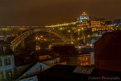 Puente D. Luis I (Carhove) Tags: bridge light night puente luces noche nikon steel nocturna oporto d300 saariysqualitypictures