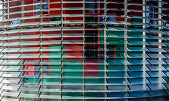 Torre Agbar (Maciek Lulko) Tags: barcelona skyline architecture skyscraper spain arquitectura nikon torre skyscrapers sigma architektur catalunya modernarchitecture architettura torreagbar jeannouvel arch