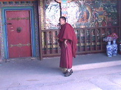 Monk on His Cell