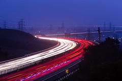 night canon plateau freeway taichung dadu 夜景 台中... (Photo: Cheng Yang, Chen on Flickr)