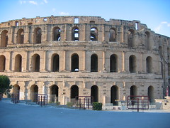 The Roman Amphitheater of El Djem Tunisia